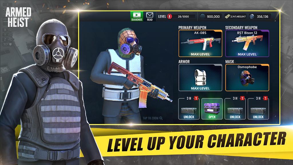 Armed Heist: TPS 3D Sniper shooting gun games  poster 4