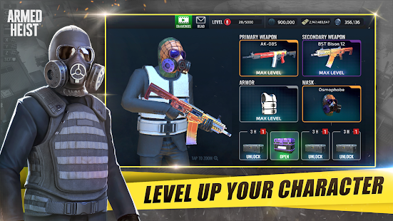 Armed Heist: TPS 3D Sniper shooting gun games Unlimited Money