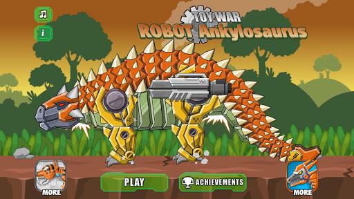 Robot Ankylosaurus Toy War screenshots 2