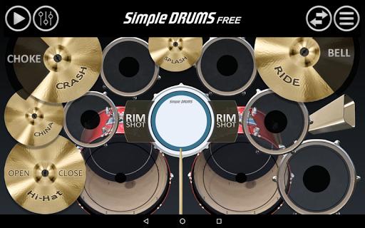 Simple Drums Free 2.4.1 screenshots 1