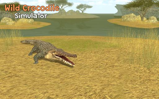 Télécharger Gratuit Wild Crocodile Simulator 3D APK MOD (Astuce) screenshots 1