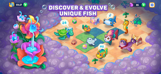 Sea Merge! Fish Games in Aquarium & Ocean Puzzle  screenshots 4