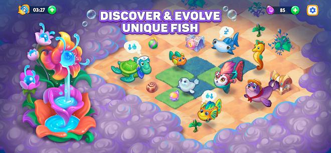 Sea Merge! Fish Games in Aquarium & Ocean Puzzle Mod 1.8.1 Apk [Unlimited Money] 4