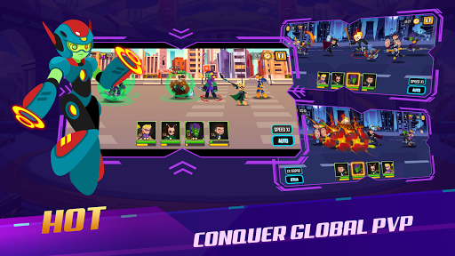 Stickman Super Heroes - Stick Battle Arena Fight screenshots 5