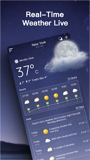 Live Weather Forecast: Accurate Weather For PC Windows (7, 8, 10, 10X) & Mac Computer Image Number- 6
