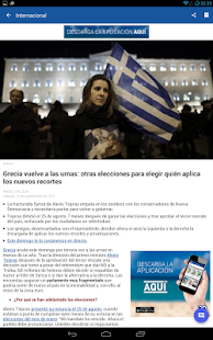 20minutos - Últimas noticias Screenshot