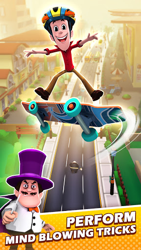 Smaashhing Simmba - Skateboard Rush android2mod screenshots 4