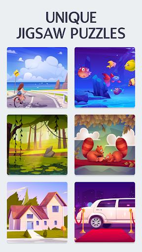 Creative Puzzles: Jigsaw Game 2.1 screenshots 2