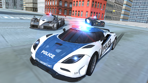 police car simulator - cop chase screenshot 1