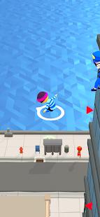 Schermata della caccia alla polizia