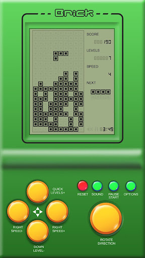 Brick Game : Retro Classic Brick  screenshots 3