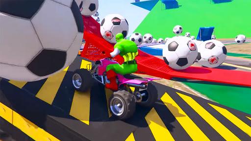 ATV Quads Superheroes Stunts Racing screenshots 7