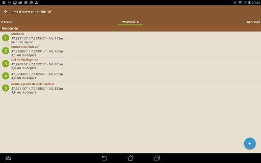 Visorando GPS randonnu00e9e 3.0.6+ Screenshots 13