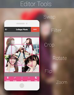 Photo Collage Capture d'écran