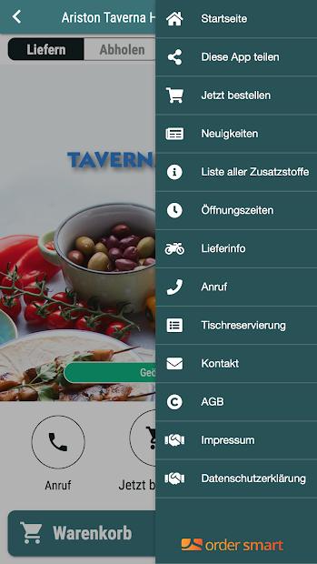 Ariston Taverna Hellas screenshot 2
