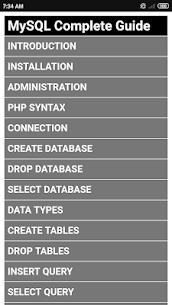 MySQL Complete Guide 1