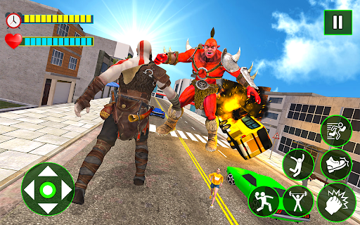Incredible Monster City Battle - Superhero Games android2mod screenshots 6