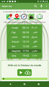 Islam.ms Prayer Times Qibla finder Locator Compass 33.16.0 Apk 1