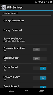 iPIN - Password Manager Screenshot