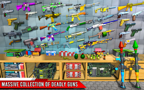 Fps Robot Shooting Games Mod Apk– Counter Terrorist (God Mode) 9