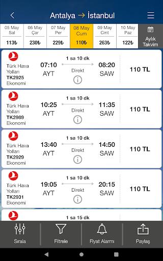 Ucuzabilet - Flight Tickets 3.1.8 Screenshots 19