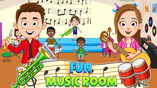 My Town : Play School for Kids Free For Android (MOD, Unlimited Money) 4