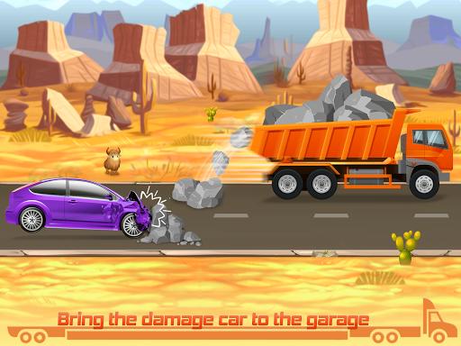 Kids Truck Games: Car Wash & Road Adventure android2mod screenshots 4