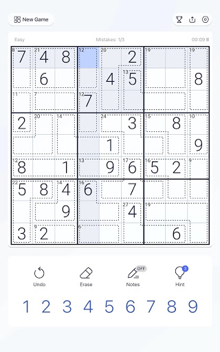 Killer Sudoku - Free Sudoku Puzzle, Brain Games  screenshots 9