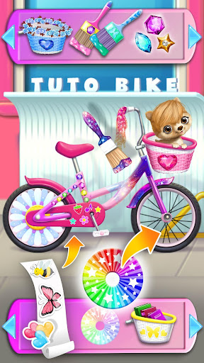 Sweet Baby Girl Cleanup 6 - School Cleaning Game apktreat screenshots 2
