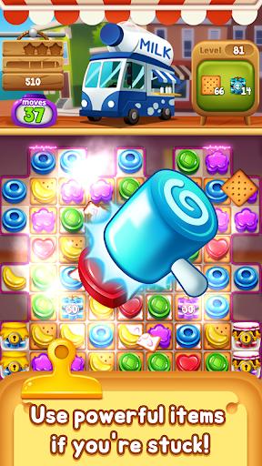 Food Pop: Food puzzle game king in 2021  screenshots 4