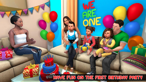 New Mother Baby Triplets Family Simulator  screenshots 4