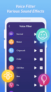Funny Voice Changer & Sound Effects Screenshot