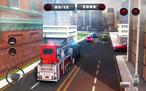 ud83dude92 Rescue Fire Truck Simulator: 911 City Rescue  screenshots 15