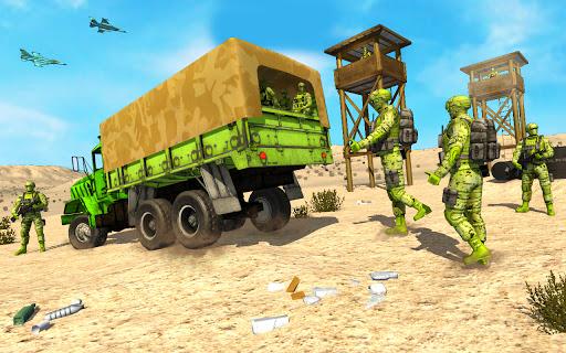 Offroad US Army Prisoner Transport: Criminal Games  screenshots 2