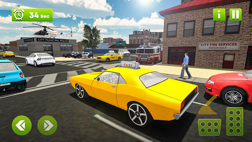 Virtual Single Dad Taxi Driver Sim 1.1 screenshots 5