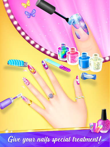 Nail Salon Manicure - Fashion Girl Game apkmr screenshots 14