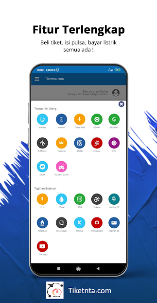 Tiketnta.com screenshot 1