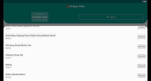 Malaysia Prayer Time 2021  Screenshots 8