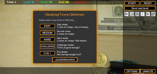 Desktop Tower Defense screenshots 1