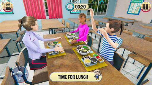 Virtual High School Girl Game- School Simulator 3D 1.0.0 Screenshots 2