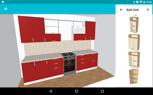 Kitchen Planner 3D 1.12.0 Screenshots 3