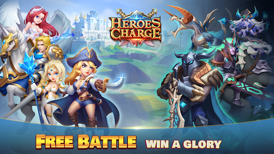 Heroes Charge Mod Apk 2.1.291 Unlimited Money/Gems for Android 3