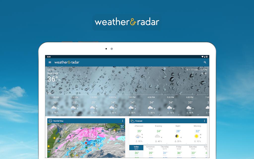 Weather & Radar USA - Storm alerts - ad free  poster 5
