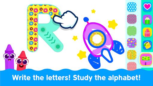 Bini Toddler Drawing Apps! Coloring Games for Kids  screenshots 4