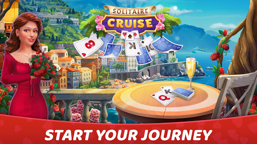 Solitaire Cruise: Classic Tripeaks Cards Games android2mod screenshots 1