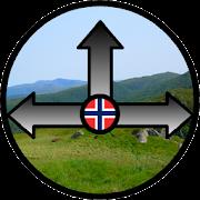 Norwegian Hiking Compass  Icon