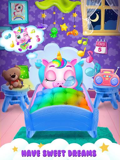 Unicorn Care Nanny Pet House 1.7 Screenshots 12