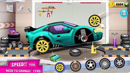 Modern Car Mechanic Offline Games 2020: Car Games apkslow screenshots 10