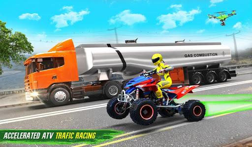 Light ATV Quad Bike Racing, Traffic Racing Games 18 Screenshots 16