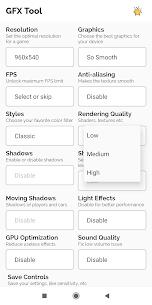 GFX Tool Pro For PUBG 5